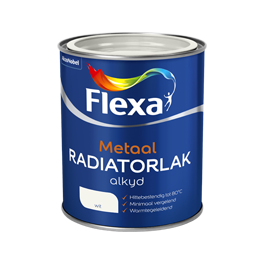 Flexa Radiatorenlak Wit