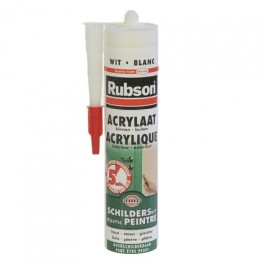 Rubson Acrylaat kit 5min. wit